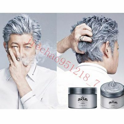 Unisex Silver Wax Professional Hair Pomades 2017 hot