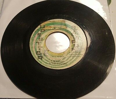 """Bob Marley & The Wailers - All In One - 7"""" - Orig.jam 1St Press - Upsetter Rec."""