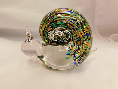 Colorful Glass snail