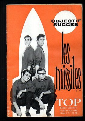 Les Missiles * Top Realites Jeunesse N°276 1964