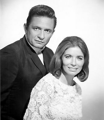 Johnny Cash & June Carter country singer collectibles item rare 8x10 picture