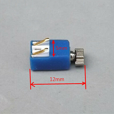 10PCS DC3V-3.7V Mini Cell Phone Vibration Motor Micro Coreless Vibration Motor