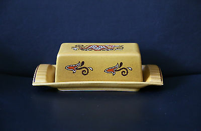 Palissy England (Royal Worcester) Butter Dish Casual Tableware - Retro / Vintage