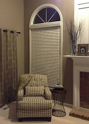 """2"""" FAUX WOOD BLINDS ~ 70"""" WIDTH x 24"""" to 36"""" LENGTHS ~ 3 GREAT WHITE COLORS!!"""