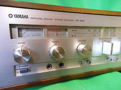 YAMAHA CR620 Natural Sound Receiver * Working 100% / New Lights *