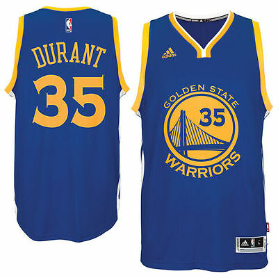 82fa8836cea NBA Kevin Durant #35 Golden State Warriors adidas Swingman Men's Jersey -  Blue