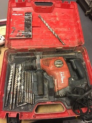 Hilti TE7-C Rotary Hammer Drill with Bits