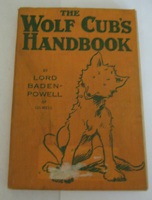 The Wolf Cub's Handbook 1934 - Lord Baden-Powell of Gilwell 9th Edition