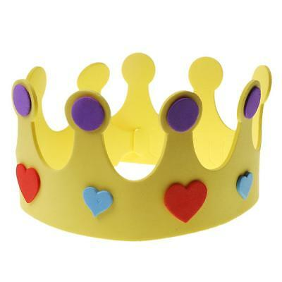Kids Foam Star Crown Tiara Hat Princess/Prince Costume Party Toy Gift