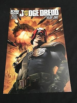 Idw Judge Dredd Year One Issue 2