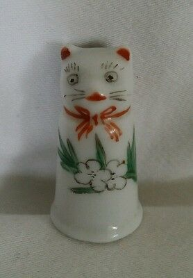 White Cat Thimble (New but Old)