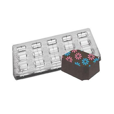 Fat Daddios Chocolate Mould - Magnetic - Rectangle - Indented Corner