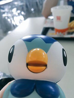 Russian Pokemon McDonalds happy meal toys new promo 2016 Piplup + card (packed)