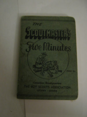 The Scoutmaster's Five Minutes 1944 - Canadian Boy Scouts Association
