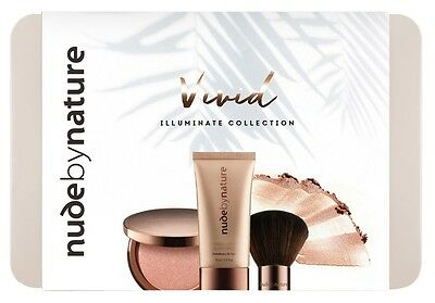Nude By Nature Vivid Illuminate Collection Valued At $49.85