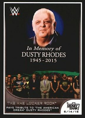 2016 Topps WWE Road to Wrestlemania #42 Dusty Rhodes
