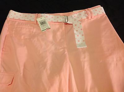 NWT Izod XFG Golf Shorts 12 Waist Women's