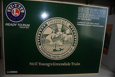 Lionel #30002 Neil Young Greendale Set From 2004 Destined To Be Collectible!!