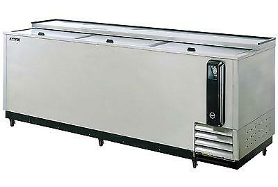 "95"" Stainless Steel Super Deluxe Bottle Cooler"