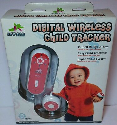Levana CT1000 Digital Wireless Child Tracker Wrist Watch and Kid Finder/Locator