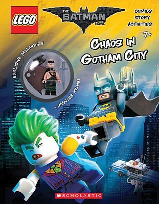 Chaos in Gotham City (The LEGO Batman Movie: Activity( Paperback)