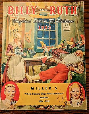 Billy and Ruth 1952 Christmas Toy Vintage Catalog Miller's Scottdale