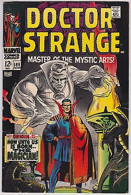 Doctor Strange #169 F-F+ 6.25 First Issue Of Ongoing Series 1968!