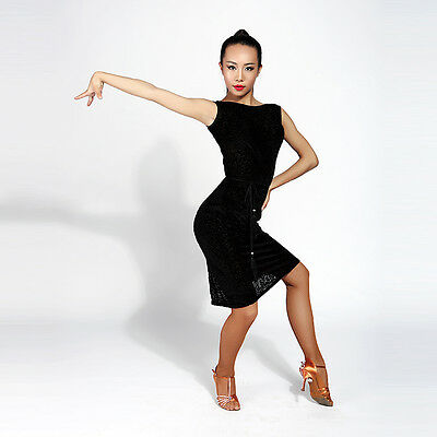 Female Latin connection training performance modern ballroom dance dress G3002
