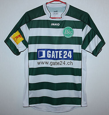 St Gallen swiss home shirt 09/10 Jako signed