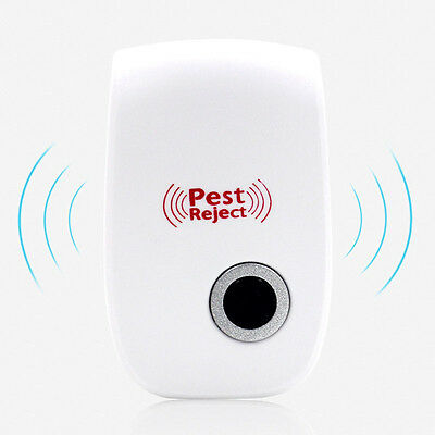 electronic cat ultrasonic mosquito repeller mouse repellent cockroach pests