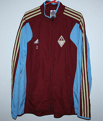 Bellinzona swiss player issue training jacket #1 Adidas