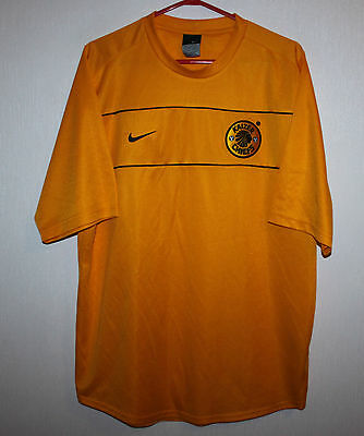 Vintage Kaizer Chiefs South Africa training shirt Nike 00's