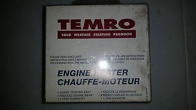Temro Engine Heater 3100014  New Old Stock