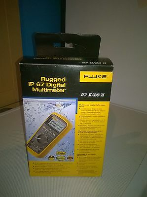 Fluke IP 67 Digital Multimeter 27II