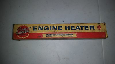 Carter vintage Engine Heater No W.P  New Old Stock