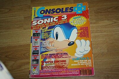 magazine jeu video CONSOLES + PLUS n°28 nintendo sega