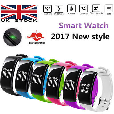 X16 Smart Watch Wristband Fitness Tracker Wrist Sports Heart Rate Monitor BT4.0