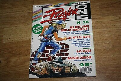 magazine jeu video PLAYER ONE n°28 nintendo sega