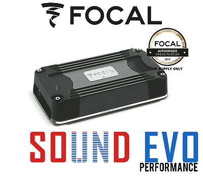 Focal FD 4.350 Ultra Compact 4 Channel Multi Channel Car Audio Amplifier