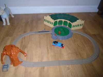 Thomas Tank Engine Tomy Trackmaster Tidmouth Sheds  With Thomas Train Complete