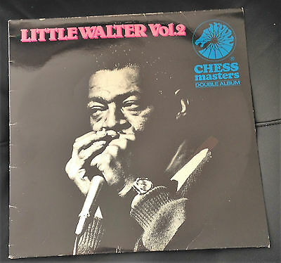 LITTLE WALTER Vol. 2 Chess Masters - Double LP CXMD 4011 UK 1983  NM/VG+