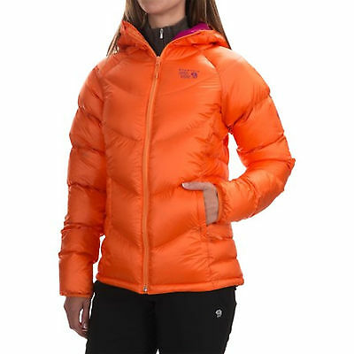 Mountain Hardwear Kelvinator Hooded Women's Down Jacket M RRP£230