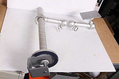 Adjustable Desk Clamp Monitor Arm Stand. VESA 75/100