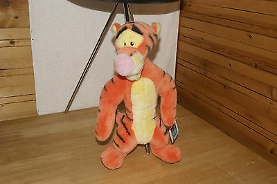 "Fabulous Disney 18"" Tigger Huggable Plush Toy From  Winnie The Pooh Collection"