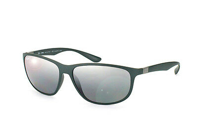 Ray Ban RB4213 6125/82 Tech Liteforce Dark Green &Polarized Grey Sunglasses