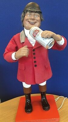 J.H Animations Vintage Automaton Figure Automated Shop Window Display Breweriana