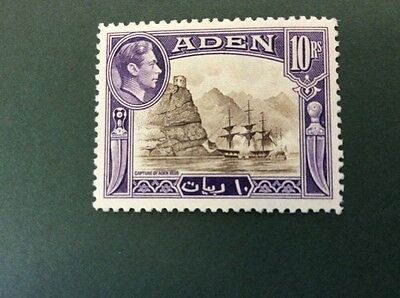 Aden 10 Rupees Definitive Unmounted Mint SG 27 Catalogue Value £50 in 2016