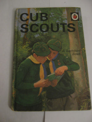 Cub Scouts - A Ladybird Book - David Harwood 1970 Series 706