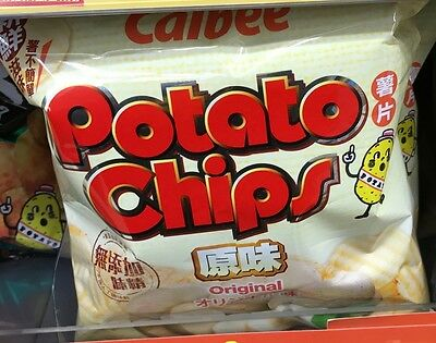 Calbee Potato Chip Original Flavoured Chips (55gm) x 6packs