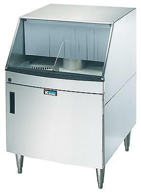 "Krowne Metal GWR-24 25"" Low Temp Underbar Rotary Glass Washer 1200 Glasses/hr"